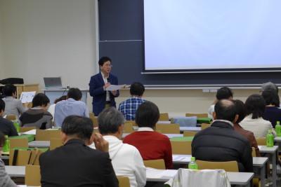 内山准教授からの国試・就職に関する説明